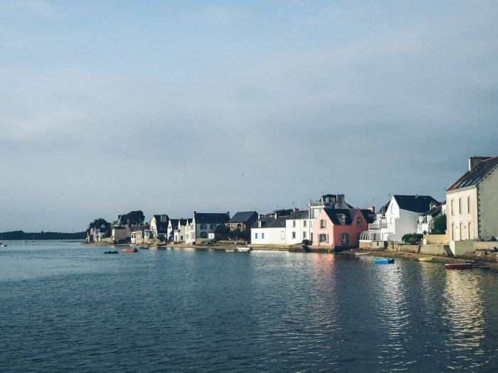Maisons bretonnes de l'Île Tudy