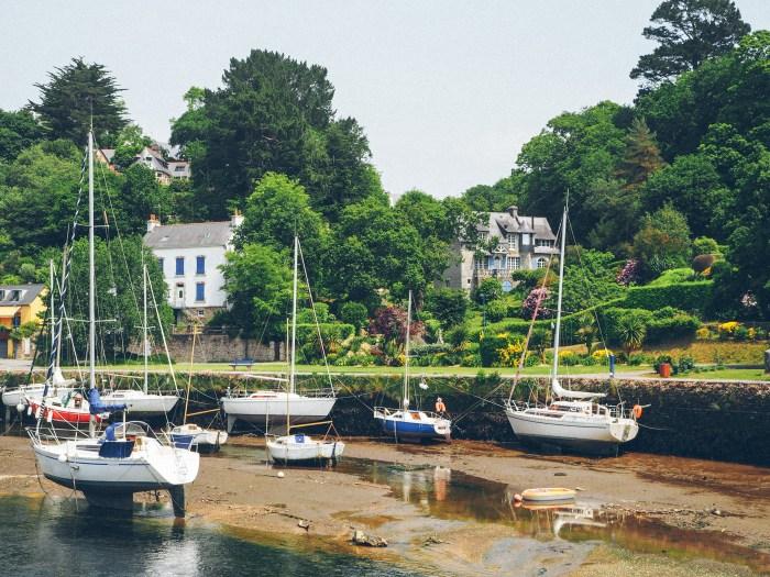 Voiliers à Pont Aven, Finistère