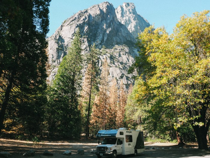 road-trip en camping-car en Californie