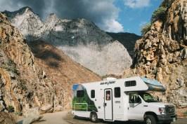 camping-car à Kings Canyon National Park