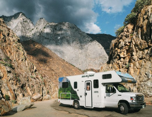 camping-car à Kings Canyon National Park