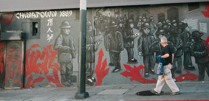 fresque murale chinatown san francisco