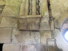 east side of chapel