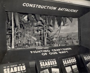 Exhibit Truck Diorama, 1943 (U.S. Navy Seabee Museum Archives)