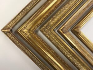A collection of Gilded Drawing Picture Frame Profiles, Closed Corners Frames. Custom Picture Frames, Museum Quality Custom Framing, Artmill Group. Seaberg Framing, Artifact Services, Armand Lee, Princeton Frame and Gallery, Prints Unlimited Gallery, Armand Lee