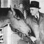 Seabiscuit & trainer Tom Smith