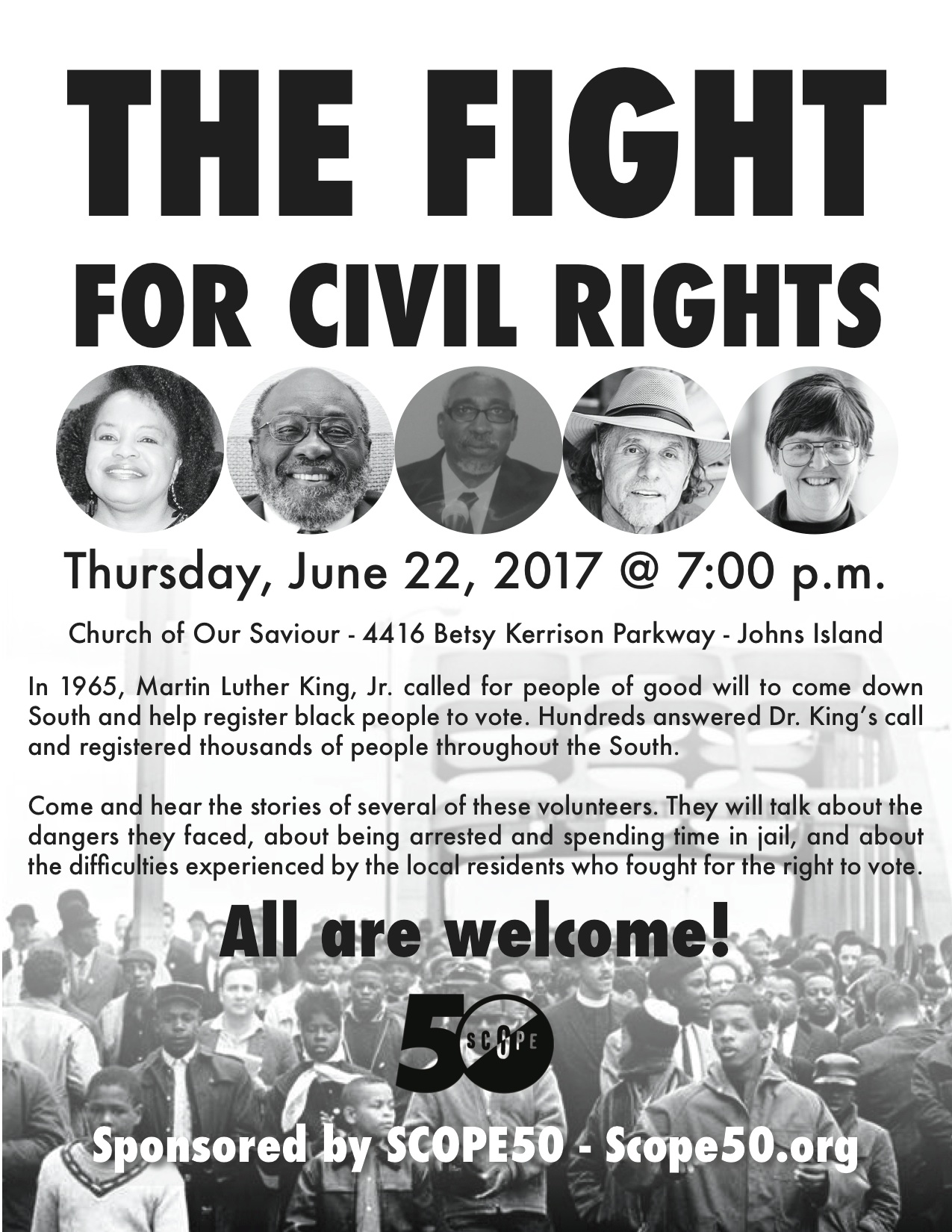 Gathering Of Civil Rights Leaders