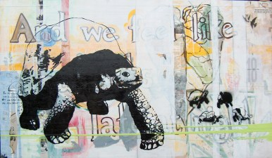 and we feel like bandits, mixed media collaboration w patrick mcmahon 2006