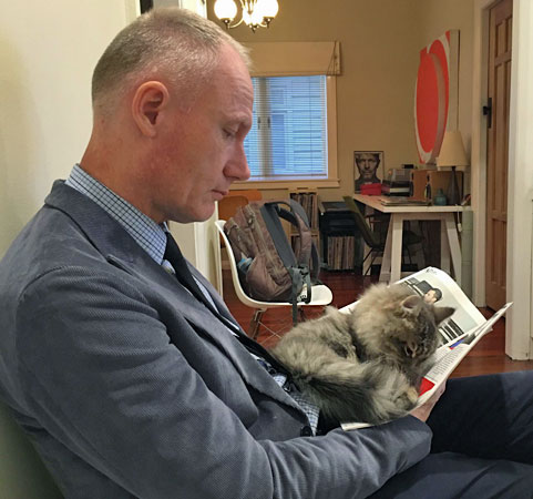 Siberian kitten Georgy (ex Jonty), May 2016