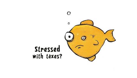 Stressed fish