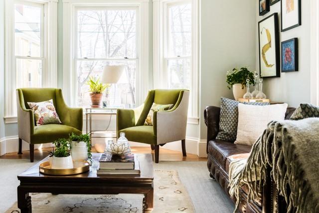 Forest & Ash Living Room Design