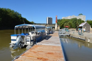 Seaco Docks at The Forks Historic Port