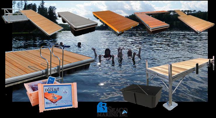 L6 Aluminum Docks L4 Aluminum Docks Wood Docks