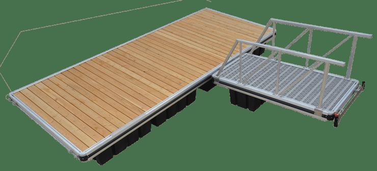 L6 Aluminum Dock