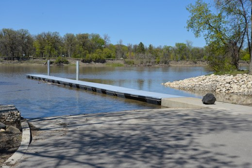 Seaco Marine at St. Vital Boat Launch, Winnipeg, Manitoba Canada