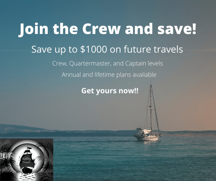 Join the crew and save
