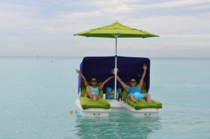 Enjoy the cool shade on a Seaduction Float