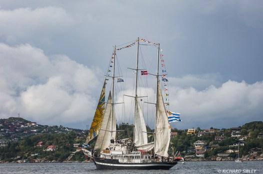 Schooner Capitan Mirander. Urguay