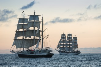 Lord Nelson and Christian Radich