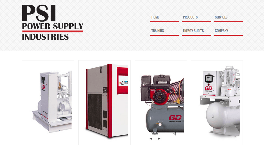 Website Launch: Power Supply Industries