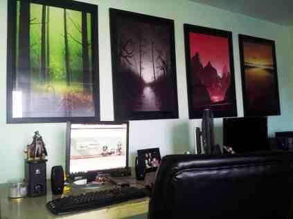 Erik's workspace
