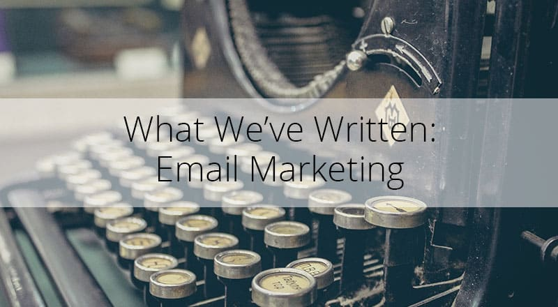 Blogs on Email Marketing