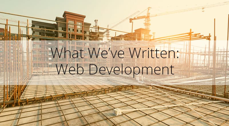 Blogs on Web Development