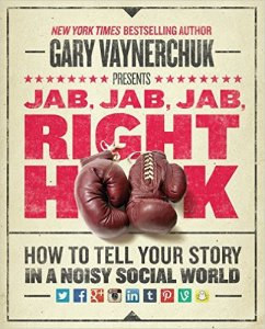 Seafoam's best business books, Jab, Jab, Jab, Right Hook.