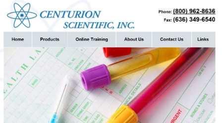 Centurion Scientific Website