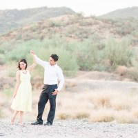 Monica & Daniel's Romantic Desert Engagement • Hermosillo, Sonora