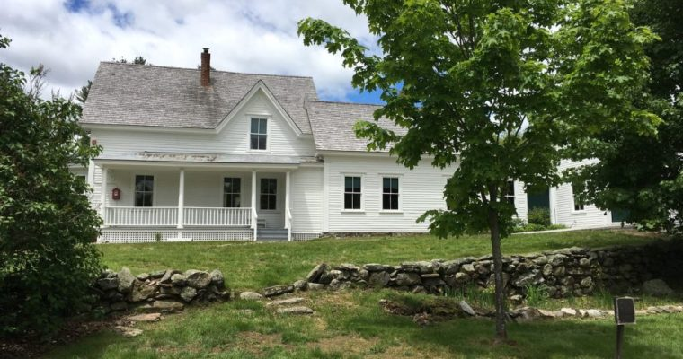 A Visit to Robert Frost's Farm