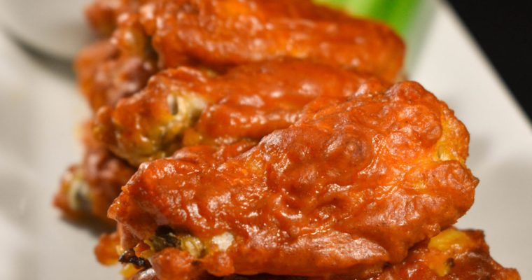 The Best Ever Buffalo Wings