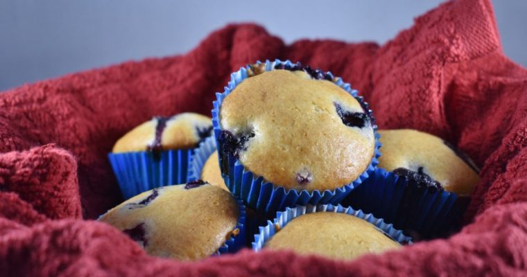 Tasty (And Time-Honored!) Blueberry Muffins