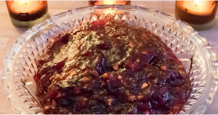 Homemade Cranberry Sauce In No Time!