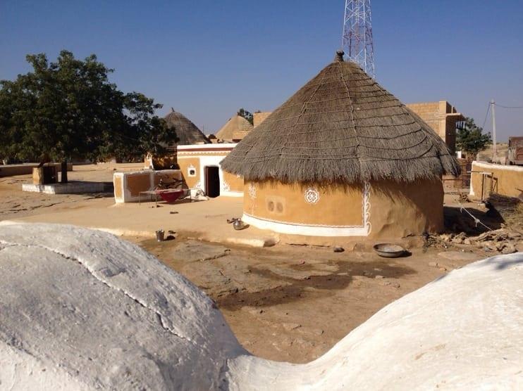 An Early Morning Conversation Jaisalmer, India