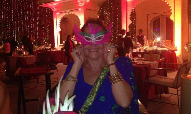 Christmas Eve, Udaipur, post 2 of 2, the dinner