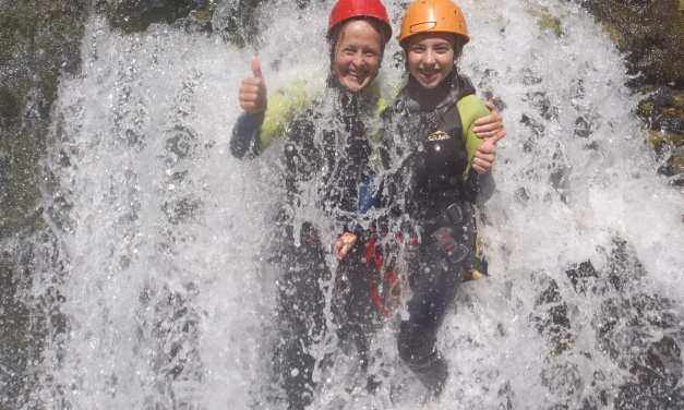 Canyoning before Driving South