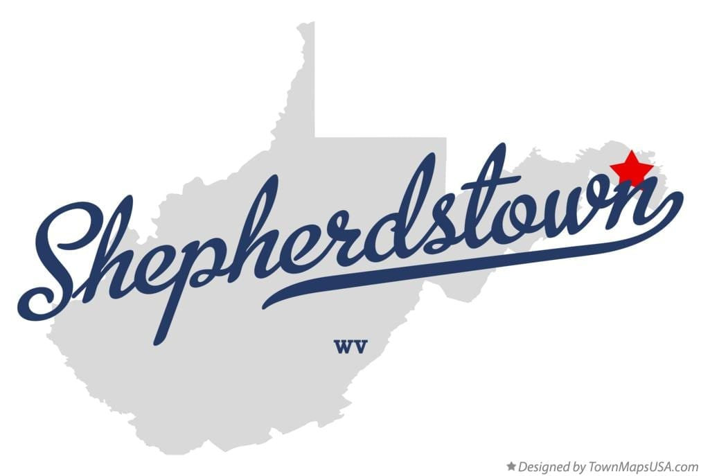 map_of_shepherdstown_wv