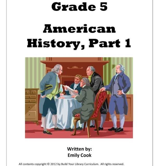 Review of Build You Library (BYL) Grade 5, American History using R.E.A.L. Science Odyssey (RSO) Biology 2