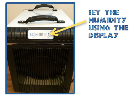 Change Set Point on Dehumidifier