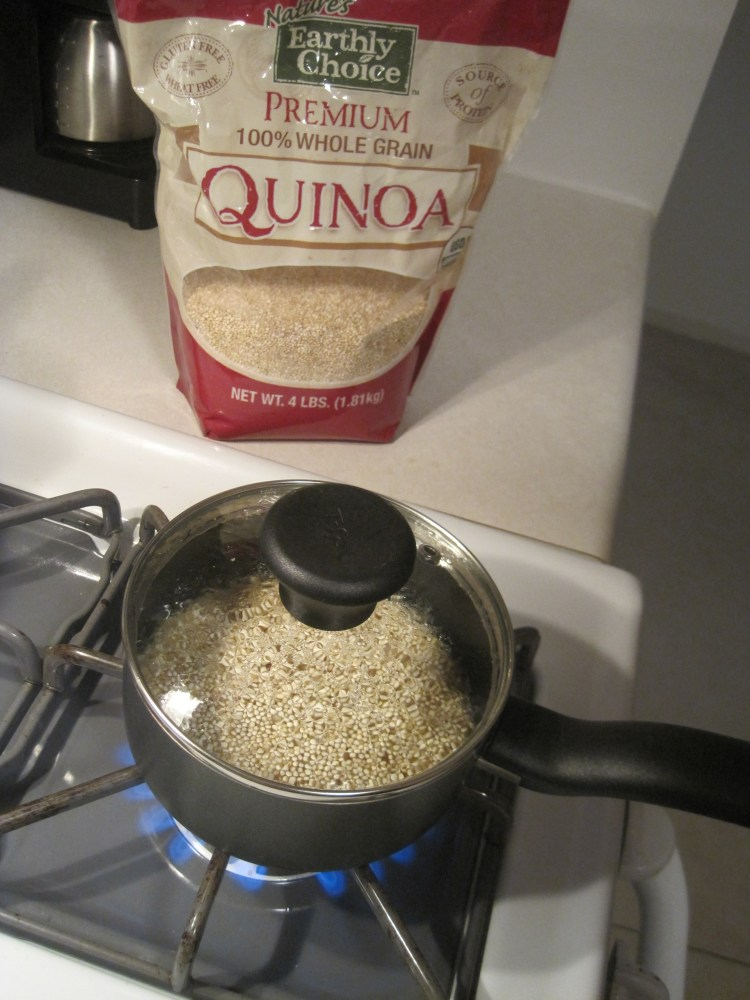 Quick and Easy Quinoa (2/3)