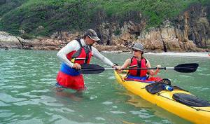 sea kayak training China