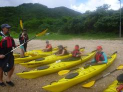 sea kayak briefing