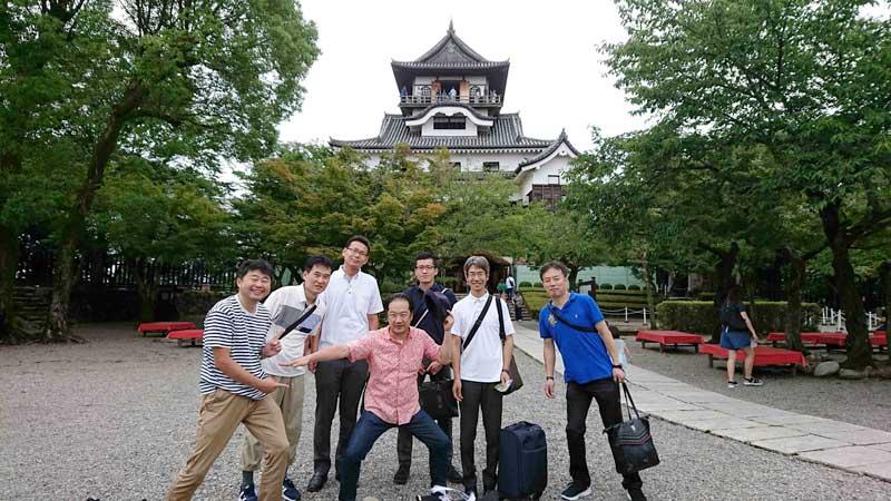 国宝犬山城を見学