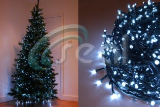 led christmas lights white