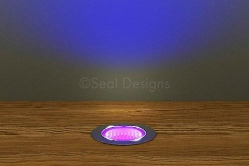 10 x 30mm Kit – Ultra Violet Stainless Steel Round Bezel