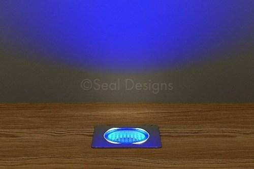 10 x 30mm Kit – Blue Stainless Steel Square Bezel
