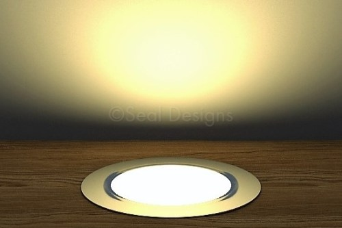10 x 60mm Kit – Warm White Stainless Steel Round Bezel