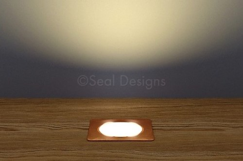 10 x 30mm Kit – Warm White Copper Square Bezel