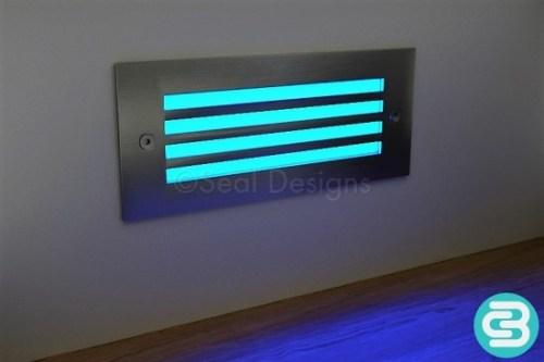 LED Wall Light – Blue